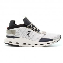 On Sneakers Cloudnova Beige Grigio Donna