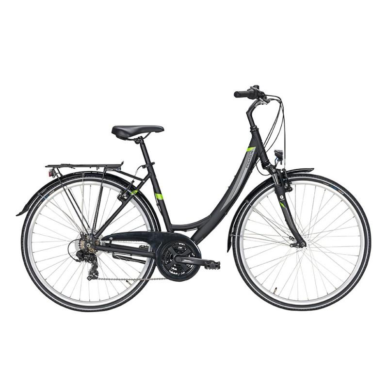 Pegasus City Bike Avanti 18 Nero Matt Donna