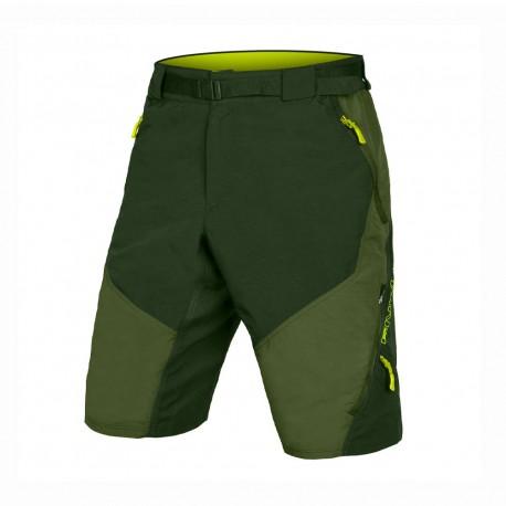 Endura Pantaloncini MTB Hummvee Ii Verde Uomo