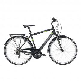 Pegasus City Bike Avanti 18 Nero Matt Uomo