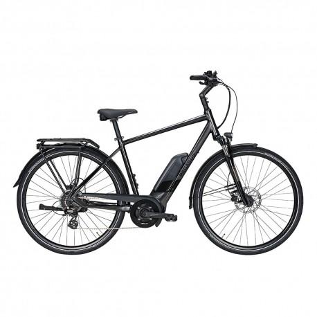 Pegasus City Bike Elettrica Solero E8 Sport Perf Nero Uomo
