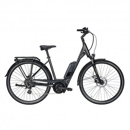 Pegasus City Bike Elettrica Solero E8 Sport Perf Nero Donna