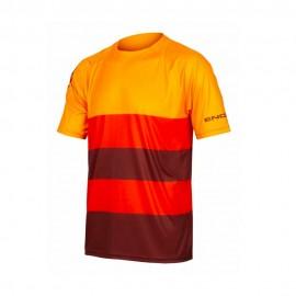 Endura T-Shirt MTB Singletrack Core Multicolore Uomo