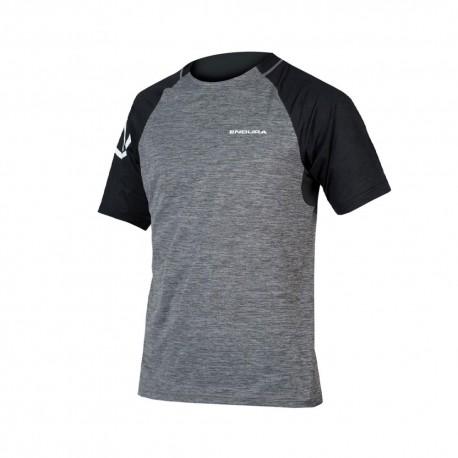 Endura T-Shirt MTB Singletrack Grigio Uomo