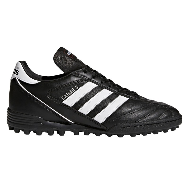 ADIDAS scarpe da calcio kaiser 5 team tf nero bianco uomo