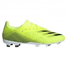 ADIDAS scarpe da calcio x ghosted.3 fg giallo nero uomo
