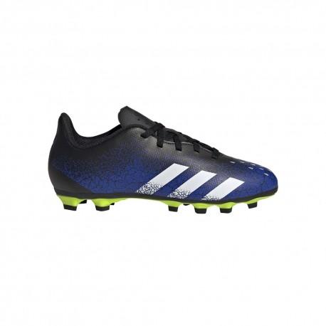 ADIDAS scarpe da calcio predator freak.4 fxg nero blu bambino