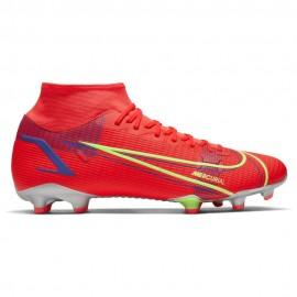Nike Scarpe Da Calcio Superfly 8 Academy Fg/Mg Rosso Verde Uomo