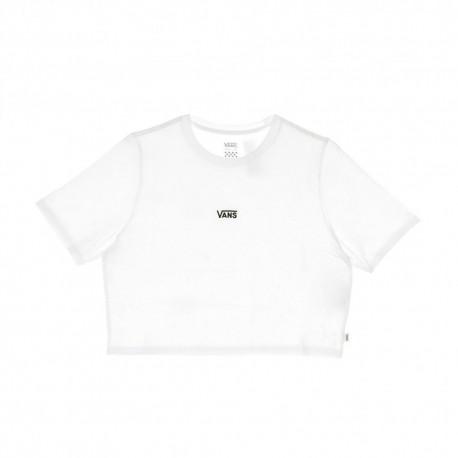 Vans T-Shirt Crop Bianco Donna