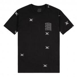 Vans T-Shirt Girocollo Nero Uomo