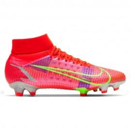 Nike Scarpe Da Calcio Superfly 8 Pro Fg Rosso Verde Uomo