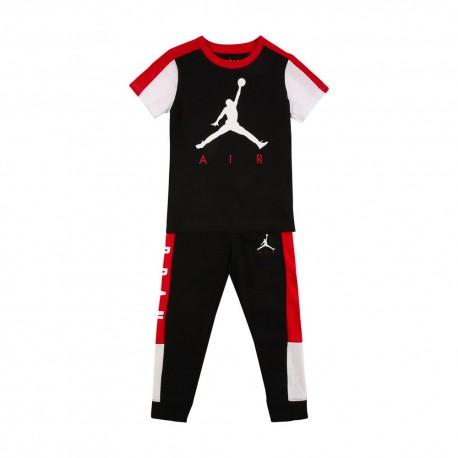 Nike Completo Tuta Jordan Nero Bambino