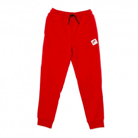 Nike Pantaloni Con Polsino Jumpan Rosso Bambino