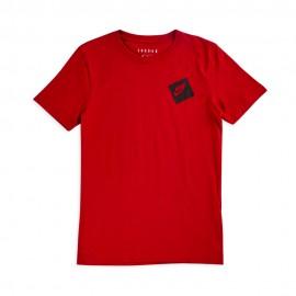 Nike T-Shirt Logo Jump Rosso Bambino