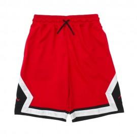 Nike Shorts Jordan Diamond Rosso Bambino