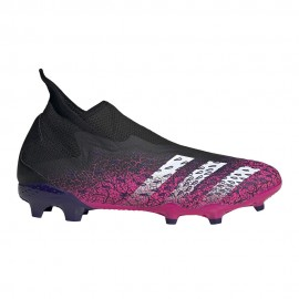 ADIDAS scarpe da calcio predator freak.3 ll fg nero fucsia uomo