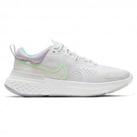 Nike Scarpe Running Miler React 2 Grigio Verde Donna