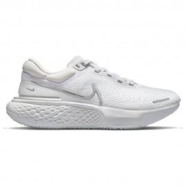 Nike Scarpe Running Zoomx Invincible Run Bianco Grigio Donna