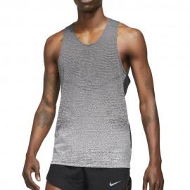 Nike Canotta Running Dvn Pinnacle 14hr Nero Bianco Uomo
