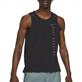 Nike Canotta Running Dvn Miler Nero Uomo