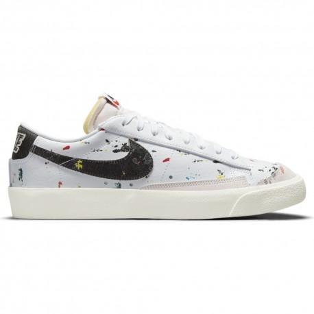 Nike Sneakers Blazer Low Brooklyn Pack Bianco Nero Uomo