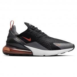 Nike Sneakers Air Max 270 Nero Arancio Uomo