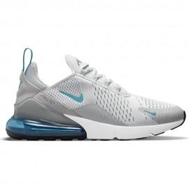 Nike Sneakers Air Max 270 Platinum Azzurro Uomo