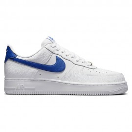 Nike Sneakers Air Force 1 '07 Bianco Blu Uomo