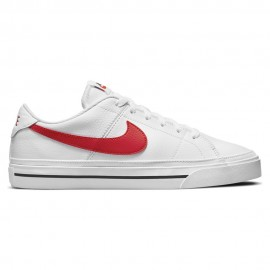 Nike Sneakers Court Legacy Bianco Rosso Uomo