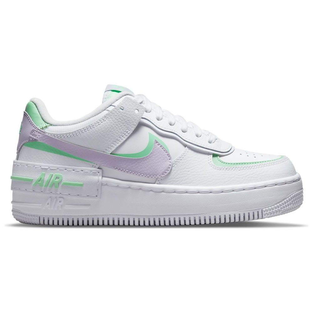 Nike Sneakers Air Force 1 Shadow Bianco Lilla Donna - Acquista ...