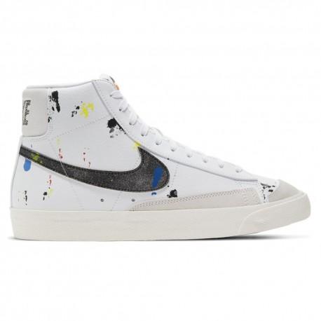 Nike Sneakers Blazer Hi Brooklyn Pack Bianco Nero Uomo