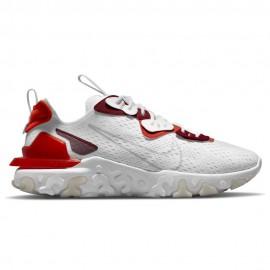 Nike Sneakers React Vision Bianco Arancio Uomo
