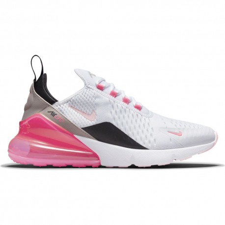 Nike Sneakers Air Max 270 Ess Bianco Rosa Donna