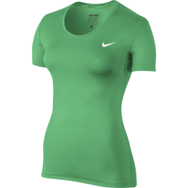 Nike T-Shirt Mm Cool Train Verde Donna
