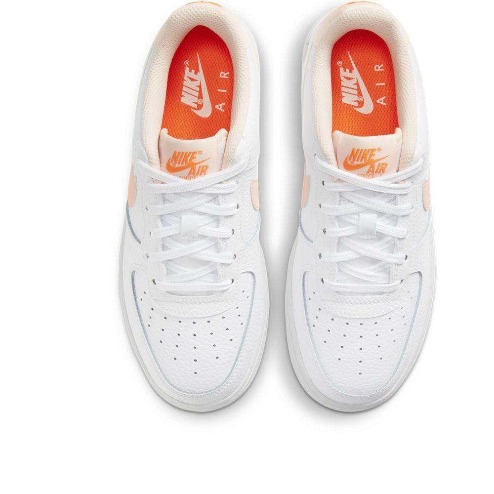 Nike Sneakers Air Force 1 Bianco Rosa Bambina - Acquista online su ...