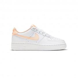 Nike Sneakers Air Force 1 Bianco Rosa Bambina