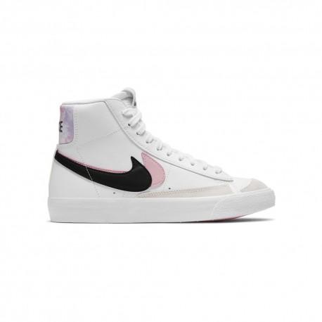 Nike Sneakers Blazer Mid 77 Se Bianco Nero Bambina