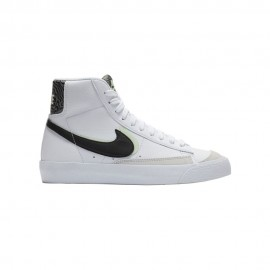 Nike Sneakers Blazer Mid 77 Se Gs Bianco Smoke Grigio Bambino