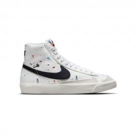 Nike Sneakers Blazer Mid 77 Bianco Nero Bambino