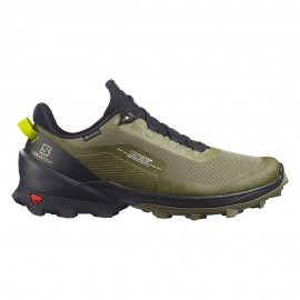Salomon Scarpe Trekking Cross Over Gtx Nero Verde Uomo