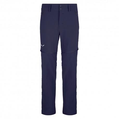Salewa Pantaloni Trekking Talveno Convertibile Blu Uomo