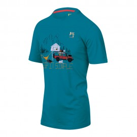 Karpos T-Shirt Genzianella Quetzal Verde Uomo