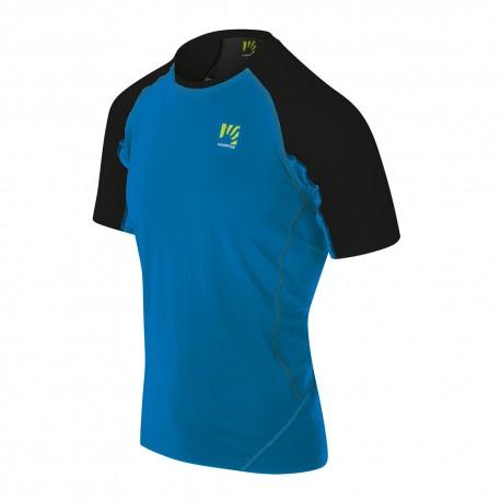 Karpos T-Shirt Lavaredo Indigo Bunting Nero Uomo