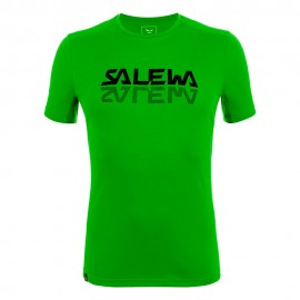 Salewa T-Shirt Sporty Graphic Pale Frog Uomo