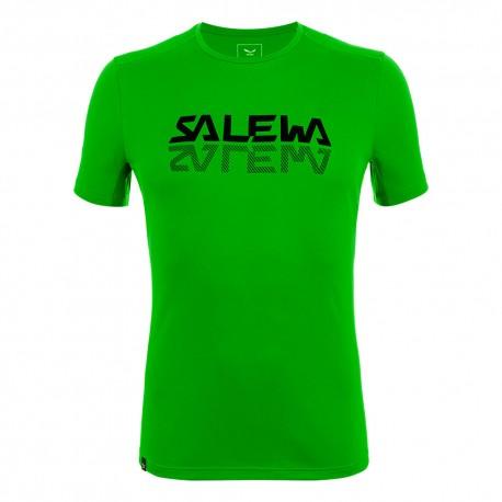 Salewa T-Shirt Sporty Graphic Pale Frog Uomo