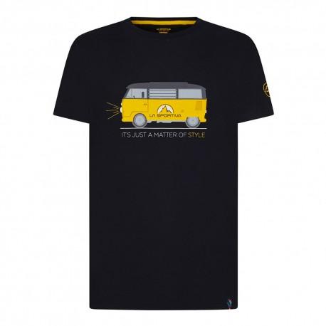 La Sportiva T-Shirt Van Nero Uomo
