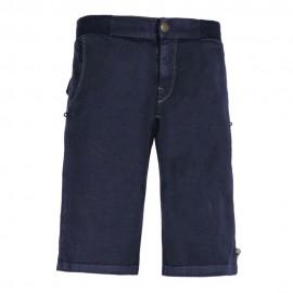 E 9 Pantaloni Corti Kroc Flax Blu Navy Uomo