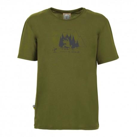 E 9 T-Shirt Living Verde Uomo