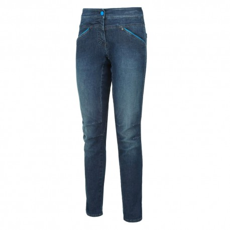 Wild Country Jeans Session Azzurro Donna