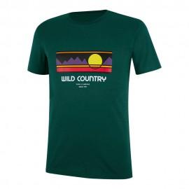 Wild Country T-Shirt Flow Alloro Uomo